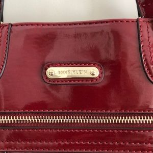 Anne Klein Large Patent Tote Bag